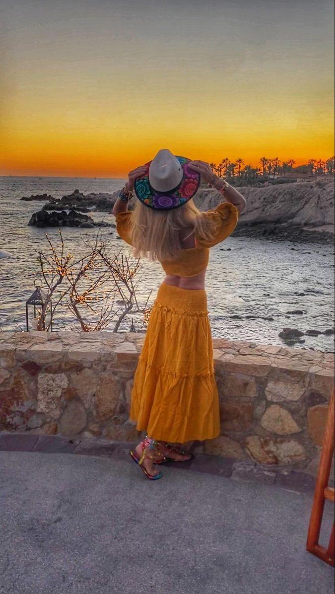 Makkela's VIP client at Cabo San Lucas