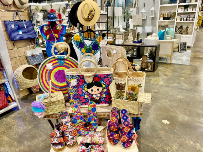 New collection available at Painted Tree Marketplace