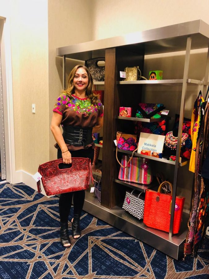 Makkela at Texas Women on the Move 2018!