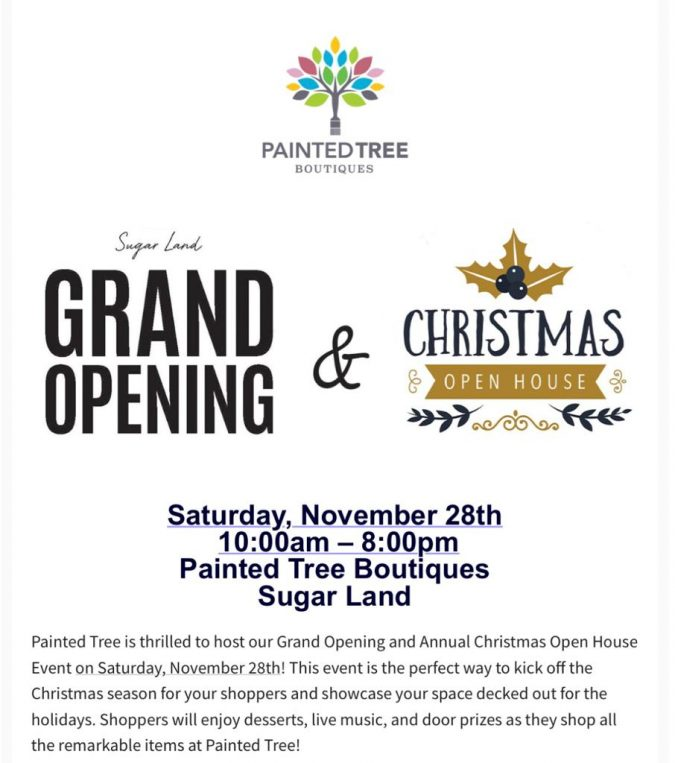 Painted Tree Boutiques – GRAND OPENING